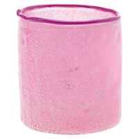 Accent Decor Single Candle Holder - Pink