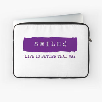 Smile! Life is better that way by IdeasForArtists