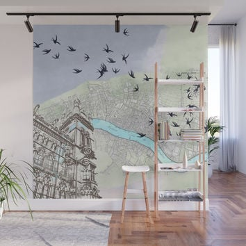 The redemption of memory Wall Mural by anipani