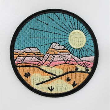 """Mountain Range"" Patch"