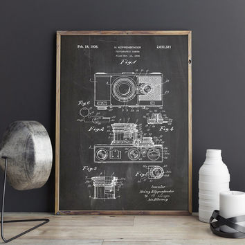 Shop camera wall art on wanelo vintage camera retro cameracamera art postercamera wall postercamera patent malvernweather Images