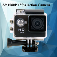 SJ4000 Gopro Style Sports DV 2 Inch Screen A9 Action Camera 1080P HD 30M Waterproof Car Camera DVR Digital Camcorder