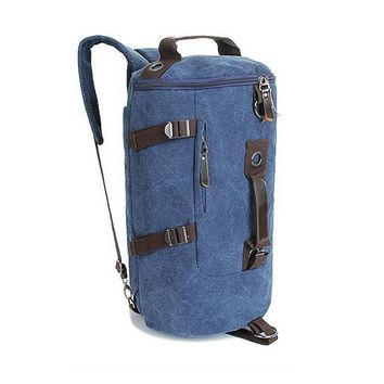 Guys Canvas Drum Backpack
