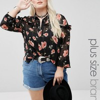 Alice & You Pie Crust Printed Top at asos.com