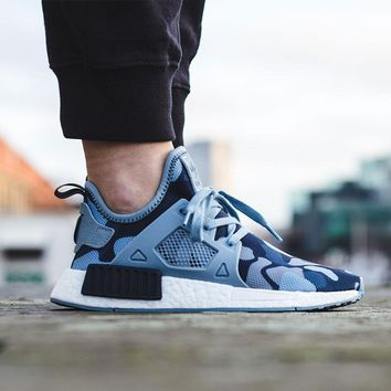 Best Online 2017 Adidas NMD XR1 Duck Camo / Blue - BA7754 Running Sport Shoes Camouflage Sneakers  Casual Shoes