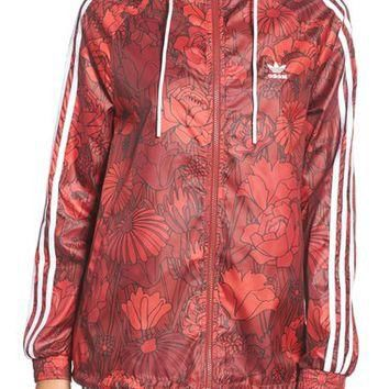 adidas Originals Print Windbreaker Jacket | Nordstrom