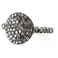 Champagne Pave Diamond Cirque Ring - Everyday Diamonds - Shop