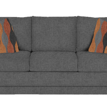 The Stanton 200 Sleeper Sofa in Jitterbug Gray (Queen)