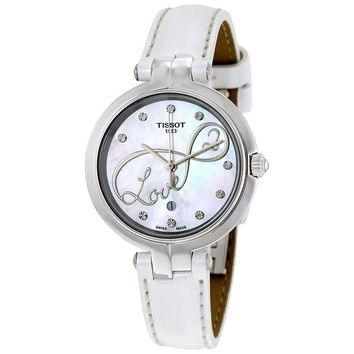 Tissot Flamingo Ladies Watch T0942101611101