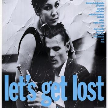 Let's Get Lost 27x40 Movie Poster (1988)