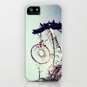Hanging by a Thread iPhone Case by Sophie Maes | Society6
