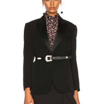 Isabel Marant Laya Jacket in Black | FWRD