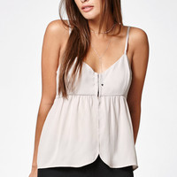 Kendall and Kylie Hook-And-Eye Cami Tank Top at PacSun.com