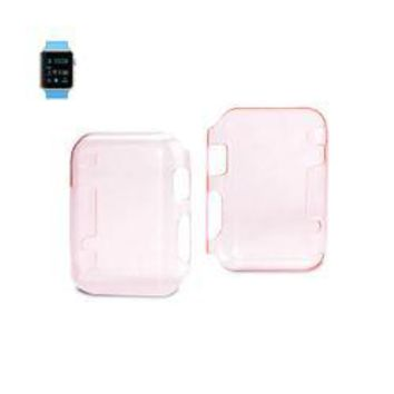 REIKO 38MM IWATCH CLEAR SCREEN PROTECTOR IN PINK
