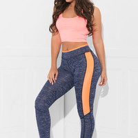 Work Out Tights Blue