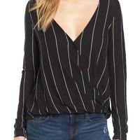Michelle by Comune Stripe Long Sleeve Top | Nordstrom