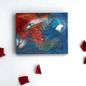 """Abstract Painting Expressionist Modern Art """"Facing the Cyclone"""""""