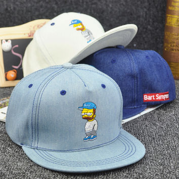 Cartoon Denim Cap Hots Summer Gift 29