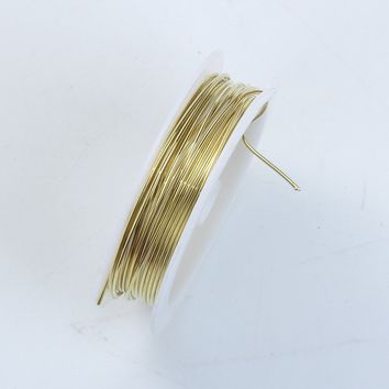 WG-101-18G Gold Color Wire 18 Gauge