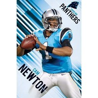 Cam Newton Carolina Panthers NFL Sports Poster