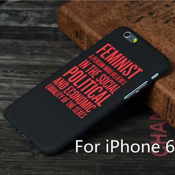 Feminist Iphone 6 Phone Case