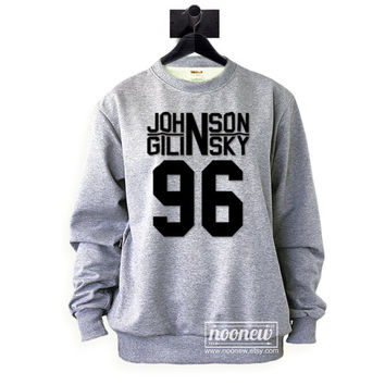 Johnson Glinsky 96 Sweatshirt Sweater Crew Neck Shirt – Size S M L XL