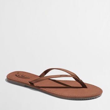 Factory Rainbow® tango flip-flops : Seasonal | J.Crew Factory