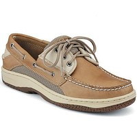 Men's Billfish 3-Eye Boat Shoe in Tan and Beige by Sperry
