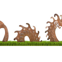 SEA SERPENT GARDEN SCULPTURE | UncommonGoods