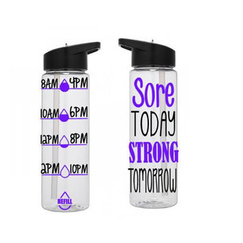 Motivational Water Bottle, Water Tracker Bottle, Cute Water Bottle, Personalized Water Bottle