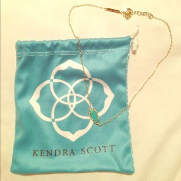 Kendra Scott Turquoise Skylie Necklace