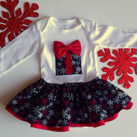 Holiday dress, Christmas Dress for Girls, Baby Christmas Outfit