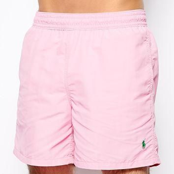 Polo Ralph Lauren Pink Hawaiian Swim Shorts