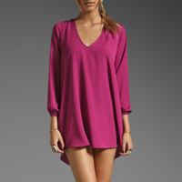 Lovers + Friends Gracie Dress in Fuchsia from REVOLVEclothing.com