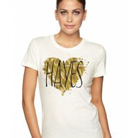 Hayes Grier Hayes Grier Heart of Gold Tee - BLV Brands