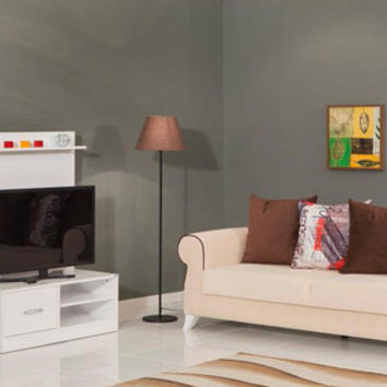 SIMPLE glossy white TV Stand