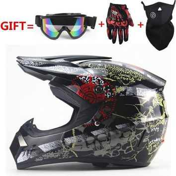 ac NOOW2 Free Shipping cross motorcycle helmet mens moto helmet Downhill MTB  DH off road motocross  racing helmet DOT with3 gifts