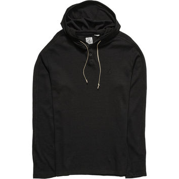 Volcom Burnt Burnout Thermal Pullover Hoodie - Men's
