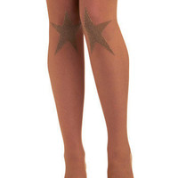 You're a Star Tights | Mod Retro Vintage Tights | ModCloth.com