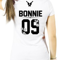 Flower BONNIE t-shirt with number