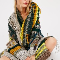 Free People Three Lakes Wrap Poncho