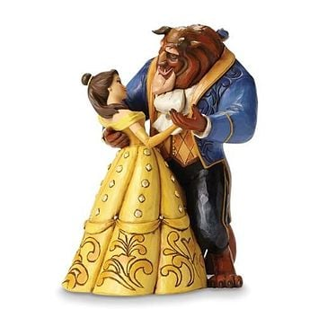 disney Beauty and the Beast dancing Figurine