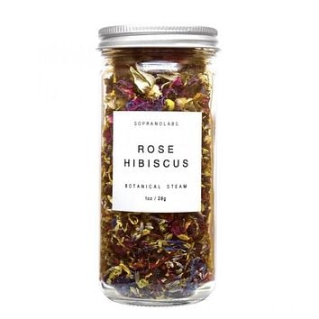 Rose Hibiscus Facial Steam