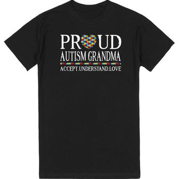 Proud Autism Grandma Autism Awareness