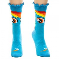 My Little Pony Rainbow Dash Blue Crew Sock - My Little Pony - | TV Store Online