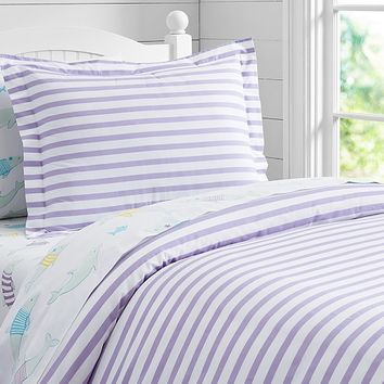 Breton Stripe Duvet Cover | Pottery Barn Kids