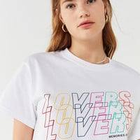 Rainbow Lovers Tee | Urban Outfitters