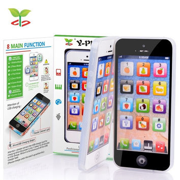 Y-Phone Kids Children Baby Learning Study Toy Mobile Y Phone Learn Educational Toys  English Learning Machine = 1946280900