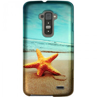 Zizo Hard Protective Cover Case for LG G Flex - Star Fish