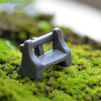 50 pieces mini chair resin crafts ornament micro craft fairy miniatures garden gnome moss terrariums decorations for home